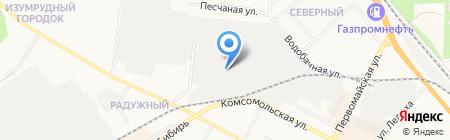 Служба заказа эвакуаторов и минипогрузчиков на карте Бердска