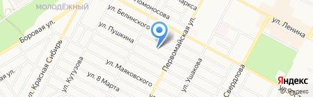 Банкомат Сбербанк России на карте Бердска