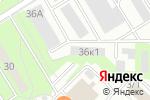 Схема проезда до компании Кинза в Новосибирске