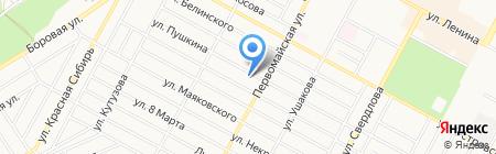 Обелиск-М на карте Бердска