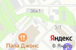 Схема проезда до компании Дозор-СВ в Новосибирске