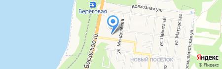 АКВИЛОН на карте Бердска