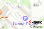 Схема проезда до компании Academ.info в Новосибирске