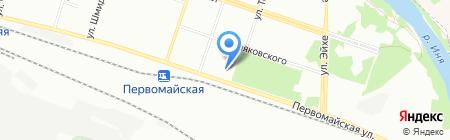 Отделение (школа) хоккея и фигурного катания на коньках на карте Новосибирска