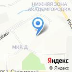 Барышевский хлеб на карте Новосибирска