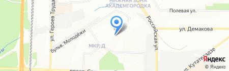 Лэнд-информ на карте Новосибирска