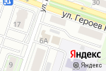 Схема проезда до компании English Club в Новосибирске