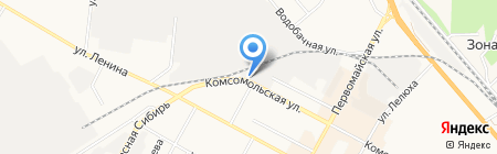 Производственная мастерская на карте Бердска
