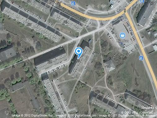 Продается 3-комнатная квартира, 62 м², Бердск, улица Советская, 60