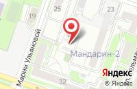 Схема проезда до компании Доминанта в Новосибирске