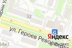 Схема проезда до компании Золотой Ключ в Новосибирске