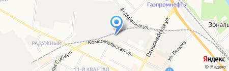 Токарноавтоматные детали на карте Бердска