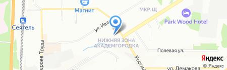 Школа частного сыска и охраны-Гарант-Н на карте Новосибирска