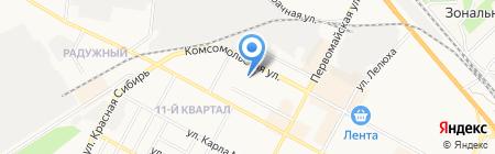 Сибирский многофункциональный центр на карте Бердска
