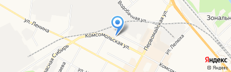 Профнастил НСК на карте Бердска