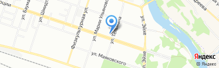 Аптека.ру на карте Новосибирска