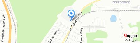 Моя Крыша на карте Новосибирска
