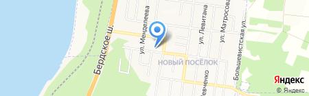 Банкомат КБ Акцепт на карте Бердска