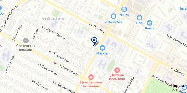 Банк ВТБ 24, ПАО на карте Бердске