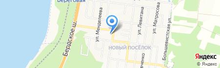 Участковый пункт полиции №5 на карте Бердска