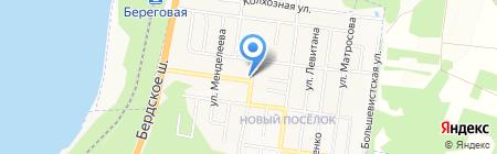 Любимый на карте Бердска