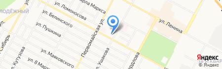 Монблан на карте Бердска
