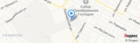Магазин крепежных изделий на карте Бердска