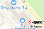 Схема проезда до компании Восток-Запад в Новосибирске