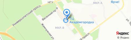 Торговый центр на карте Новосибирска