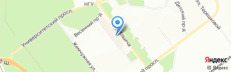 Rieker на карте Новосибирска
