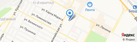 Студия перманентного макияжа и визажа на карте Бердска