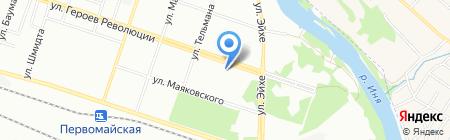 АвантажКапСтрой на карте Новосибирска
