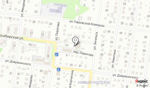 Магазин №26. Схема проезда в Бердске