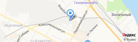 Компания по производству авточехлов на карте Бердска