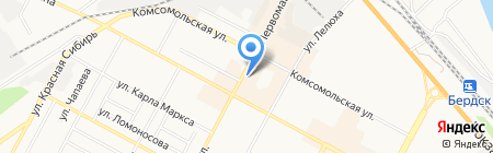 Автомаг54 на карте Бердска