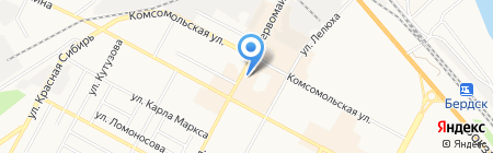 Ассорти на карте Бердска