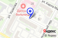 Схема проезда до компании СТРОИТЕЛЬНАЯ ФИРМА РУСЬ в Бердске