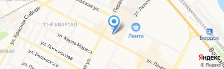 Городской центр досуга на карте Бердска