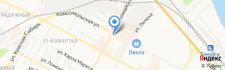 Искитимрыба на карте Бердска