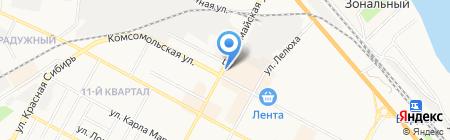 Люкс на карте Бердска