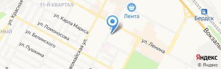 СТиВ-сад на карте Бердска
