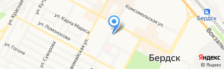 Гермес на карте Бердска