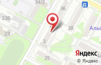 Схема проезда до компании Наф Плюс в Бердске