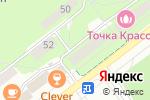 Схема проезда до компании Ателье в Новосибирске