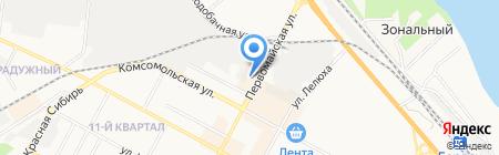 Мебель-Стиль на карте Бердска