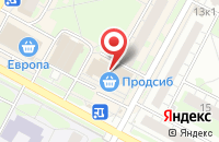 Схема проезда до компании Арт-Классик в Бердске