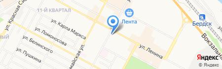 Облака-Studio на карте Бердска