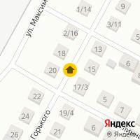 Световой день по адресу Россия, Новосибирская область, Бердск, Переулок Максима Горького