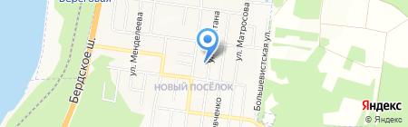 Бухара на карте Бердска