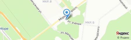 Стоматологическое отделение на карте Новосибирска